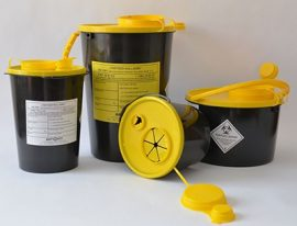 45030 3 l-es Műanyag gyűjtő P