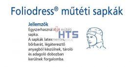 Hartmann Foliodress műtéti sapka Helmet Comfort  40db