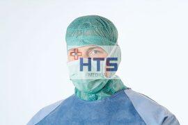 Hartmann Foliodress műtéti szájmaszk Special Protect kék 50db
