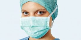 Hartmann Foliodress műtéti szájmaszk Senso Protect kék 50db