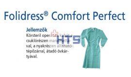 Hartmann Foliodress műtéti kabát Comfort Perfect körsteril, krepp+törlővel L 32db
