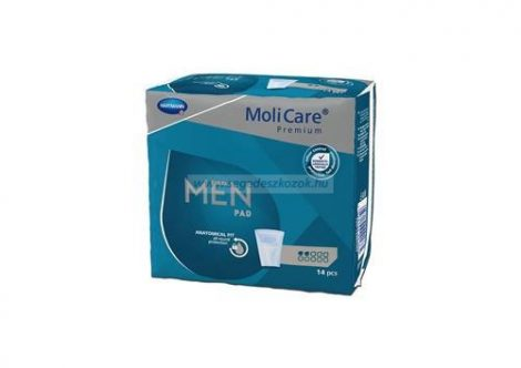 Hartmann Molicare Men pad Active 2 cseppes (330ml) 14db (Molimed)