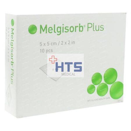 Mölnlycke Melgisorb Plus 5 x 5 cm 10db