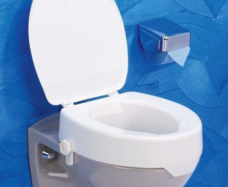 Easy-Clip WC ülőke magasító 10cm