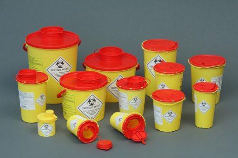 41008 0,8 l-es Műanyag gyűjtő PBS