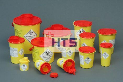 42007 0,7 l-es Műanyag gyűjtő DISPO