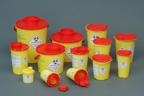 42010 1,0 l-es Műanyag gyűjtő DISPO