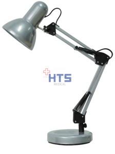 Rábalux Samson asztali lámpa /ezüst/