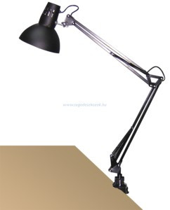 Rábalux Arno asztali (satus) lámpa /fekete/