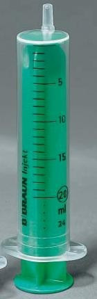 Injekt 20 ml luer eh. fecskendő