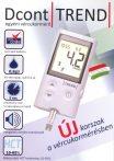 Dcont Trend vércukormérő készülék