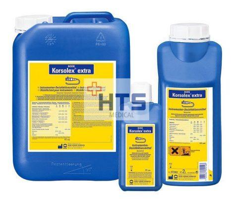 Hartmann Korsolex extra 2l, aldehid tartalmú eszközfertőtlenítő koncentrátum