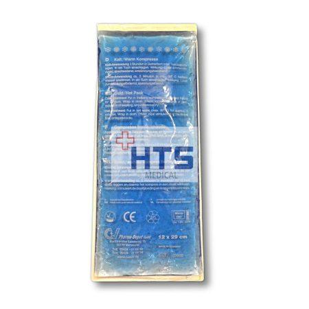 Hideg-melegterápiás gélpárna 12x29cm