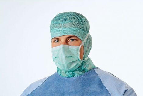 Hartmann Foliodress műtéti szájmaszk Special Comfort zöld 50db