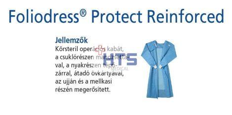 Hartmann Foliodress műtéti kabát Protect megerősített, krepp+törlővel XL 28db