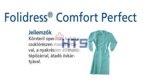 Hartmann Foliodress műtéti kabát Comfort Perfect körsteril, krepp+törlő nélkül L 32db