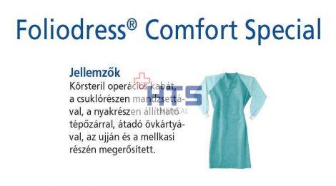 Hartmann Foliodress műtéti kabát Comfort Special megerősített, krepp+törlő nélkül XXL 28db