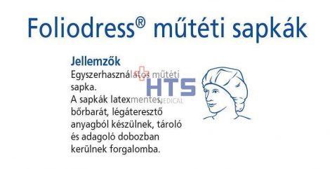 Hartmann Foliodress műtéti körgumis sapka Universal Comfort  100db