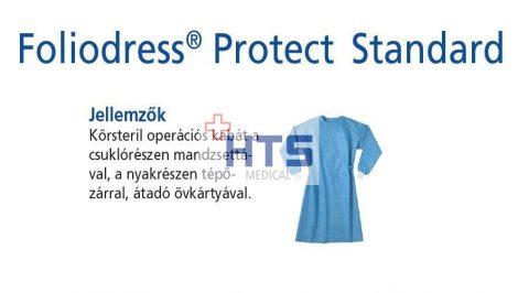 Hartmann Foliodress műtéti kabát Protect Standard körsteril, krepp+törlővel  L 32db