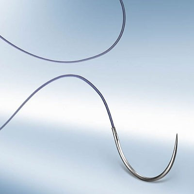 Monosyn lila 3/0 (2) 70 cm HR22 tűvel