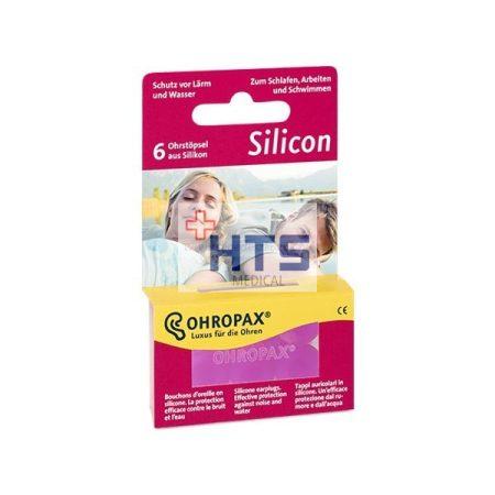 Ohropax Silicon füldugó 6db (3pár)